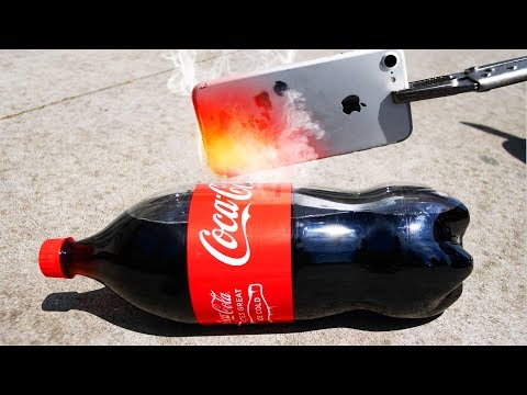 Thumbnail: Glowing 1000 Degree iPhone 7 vs Coke, Fireworks, and more!