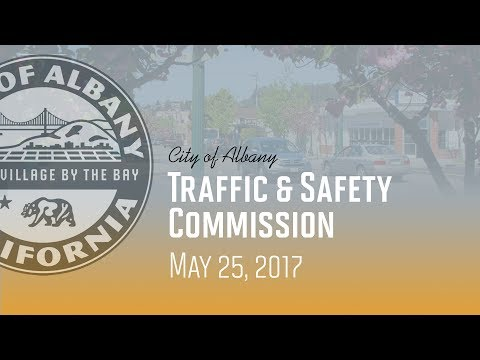 Traffic & Safety Commission - May 25, 2017