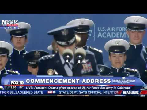 President Obama Speaks in Air Force Academy