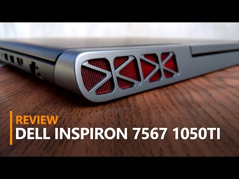 GTX 1050 Ti Gaming Laptop - Dell Inspiron 7567 Review!