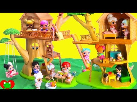 LOL Surprise Dolls Deluxe Treehouse Adventures