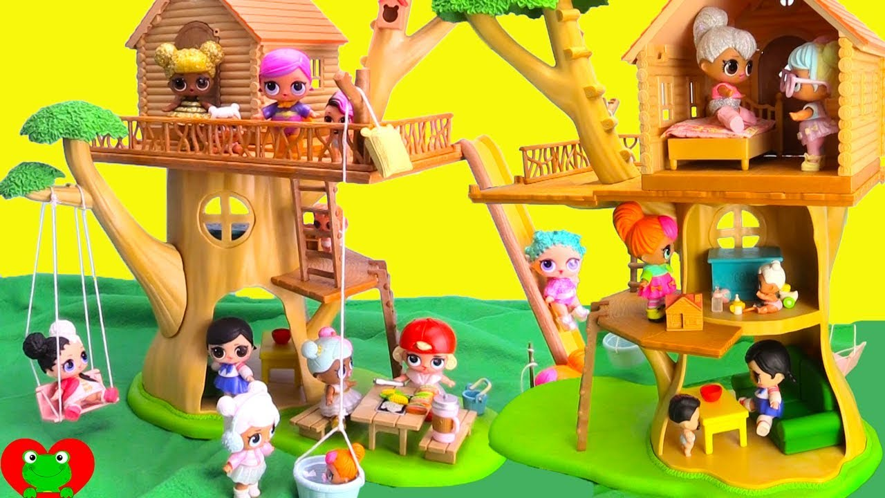 Lol Surprise Dolls Deluxe Treehouse Adventures Doovi
