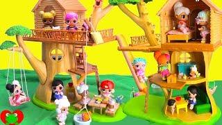 LOL Surprise Dolls Deluxe Treehouse Adventures
