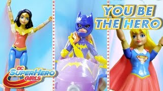 episode 1   you be the hero action figure series   dc super hero girls