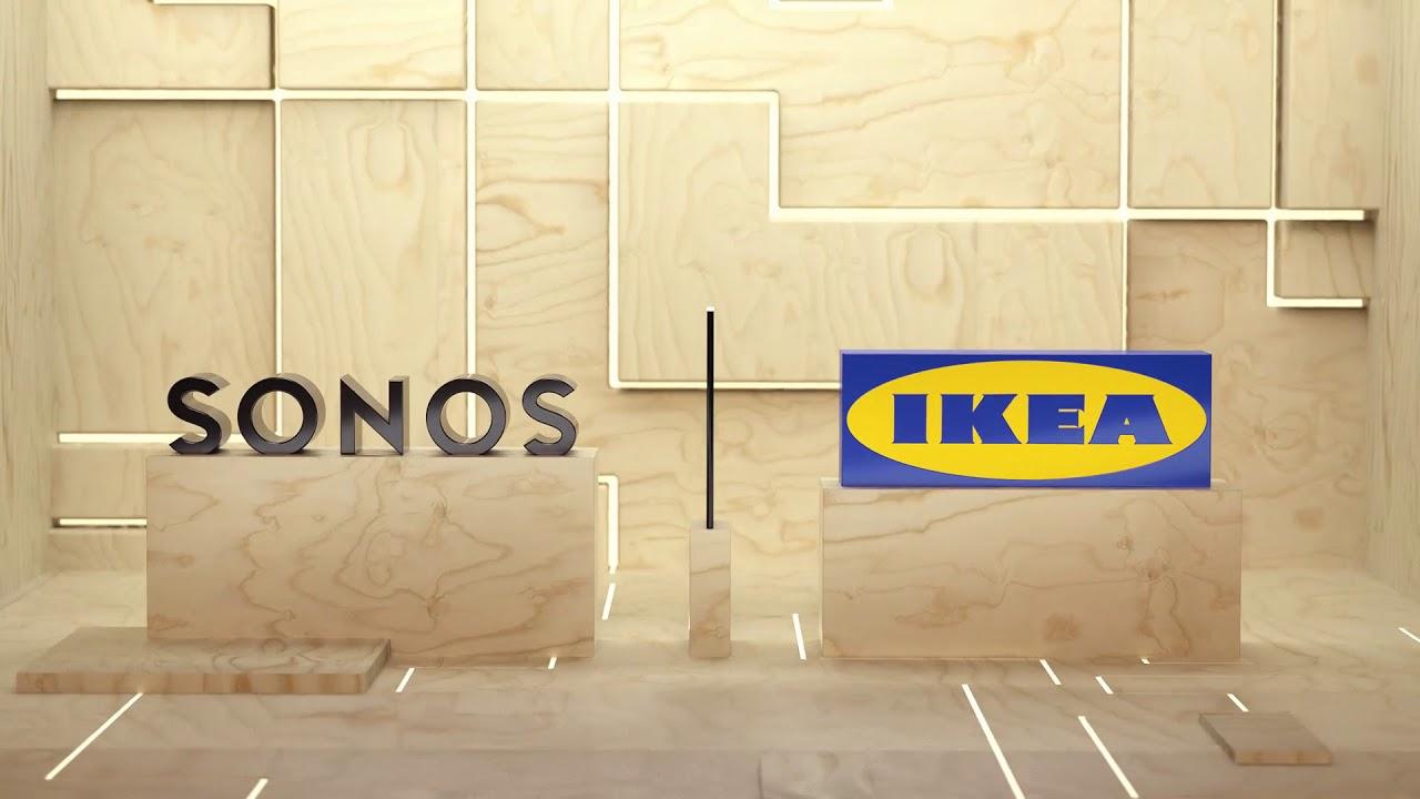 IKEA börjar samarbeta med Sonos. Ska fixa ljud till det smarta hemmet  5758e09a53ec6
