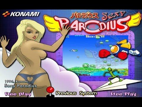 Sexy Parodius (1996) Konami Mame Retrô Arcade Games
