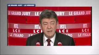 Le Debrief du Grand Jury du 27 avril 2014 - Jean-Luc Mélenchon