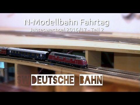 N-Modellbahn - Fahrtag Deutsche Bahn