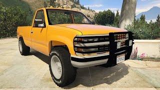 [GTA5 PC mod] 1994 Chevrolet Silverado  Test Drive...Street, Airport...