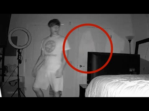 REAL GHOST CAUGHT ON CAMERA (WARNING: VERY...
