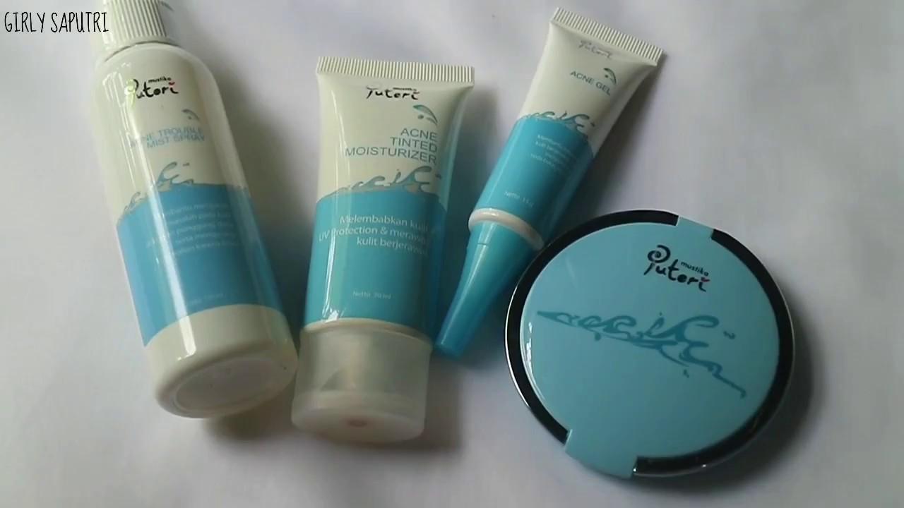 Skin Care Review Mustika Puteri Acne Series Youtube Sariayu Paket Jerawat Mustikaputeriid Mustikaputeri Acneseries
