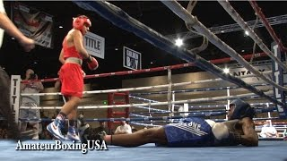 Abraham Martinez with a BRUTAL KO!!! YouTube Videos