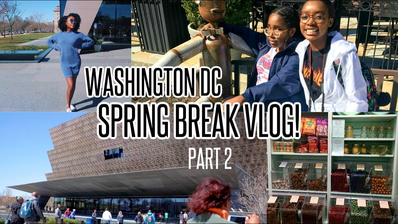 WASHINGTON D.C. MARYLAND TRAVEL VLOG Part 2 | African American Museum, ULTA, Loli & Pops...