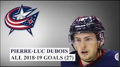 Pierre-Luc Dubois (#18) All 27 Goals of the 2018-19 NHL Season