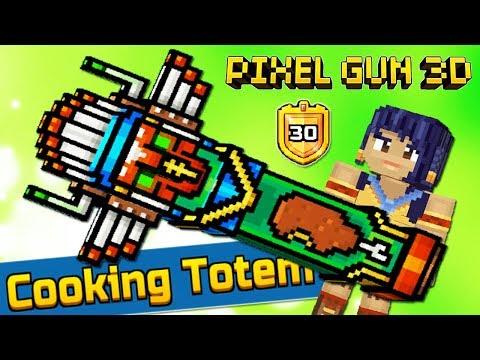 Pixel Gun 3D - КУЛИНАРНЫЙ ТОТЕМ 🍗 COOKING TOTEM (440 серия)