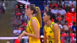 Brasil x EUA - World Grand Prix 2014
