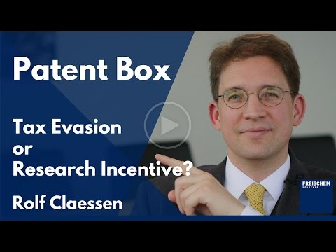Patent Box (IP Box, License Box) - Tax Evasion Tool or Research Incentive?