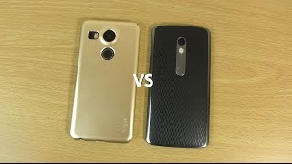 Nexus 5X VS Moto X Play - Which is Fastest?