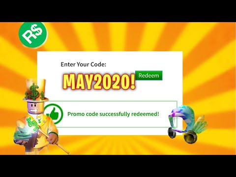 *MAY*ALL NEW ROBLOX Promo Codes ON ROBLOX 2020! PossibleSECRET RobloxPROMO Codes (WORKING)