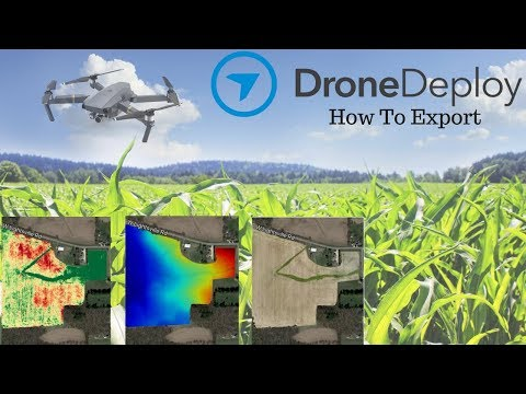 Drone Deploy | How To Export Maps