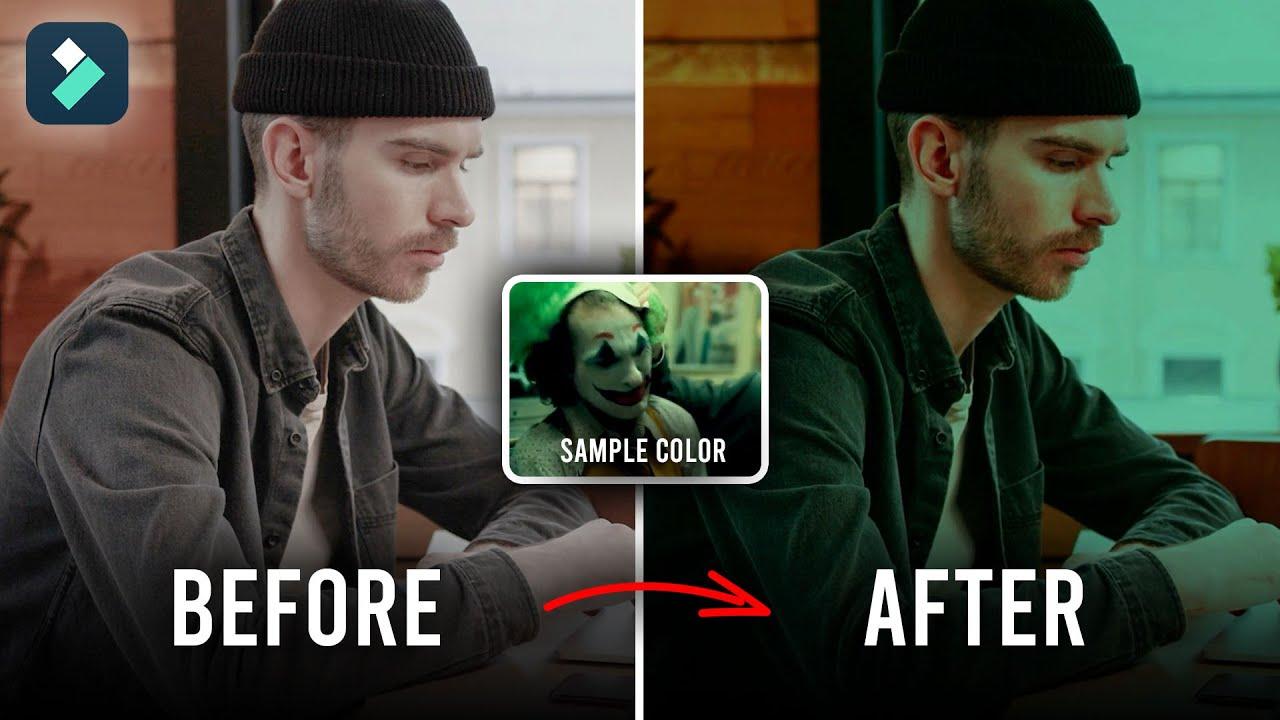 Cara Copy Color Grading dari Video Lain (Color Matching)   FILMORA TUTORIAL #15