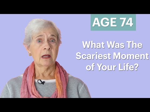 70 Women Ages 5-75 Answer: What Was the Scariest Moment of Your Life? | Glamour
