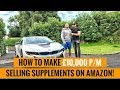 How To Make £10,000 Per Month Selling Supplements On Amazon FBA UK w/ Josh Clarke!
