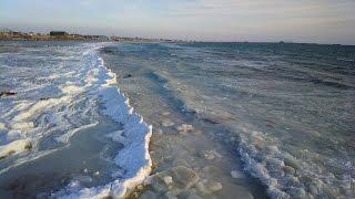 Каспийское море зимой(1 февраля 2015 г., 2015-02-01T22:06:14.000Z)