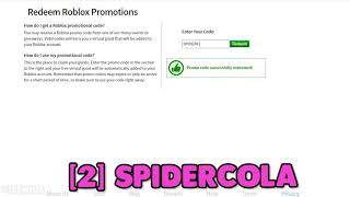 *july 2020* All Working Promo Codes In Roblox!