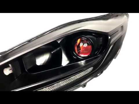 Ford Fiesta - Morimoto TL-R Projector Conversion - Custom Headlights