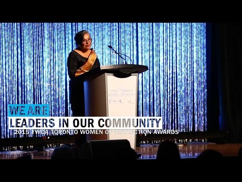 2015 YWCA Women of Distinction : Sabra Desai