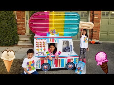 Kids Pretend Play with Ice Cream Truck Food Toys!