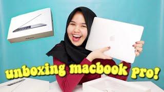 UNBOXING MACBOOK PRO!!! BELINYA PAKE HASIL YOUTUBE!!