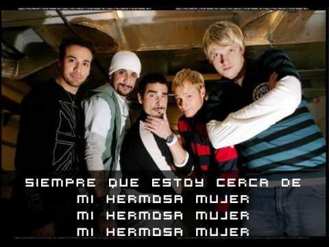 Backstreet Boys ~ Beautiful Woman (TRADUCIDA)