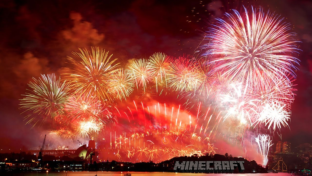 The Most Amazing Fireworks Show On New Years Day 2013