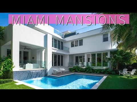 Tour LUXURY Miami Mansions Including a $25 MILLION Star Island Home