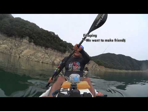 Stealth fihsing Kayak 20140704 Fikaping- 루어 낚시 카약