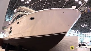 2015 Meridian 441 Sedan Motor Yacht - Walkaround - 2015 New York Boat Show