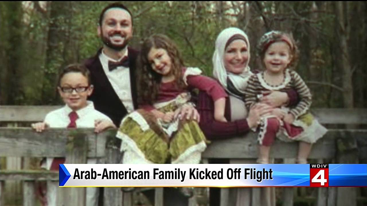 Video: Muslim Family Kicked Off United Airlines Flight (CAIR)