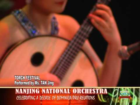 NANJING NATIONAL ORCHESTRA PERFORMS IN DOMINICA