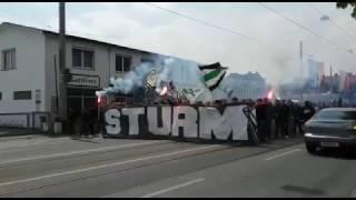 Nordkurve Graz - Corteo zur