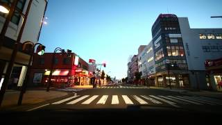 【車載動画】ふらり弘前(EOS5D MarkIII ver.)
