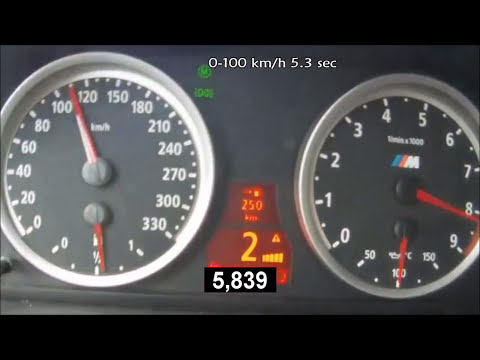 0-260 Km/h Acceleration BMW M5 E60 5.0 V10 507 Hp