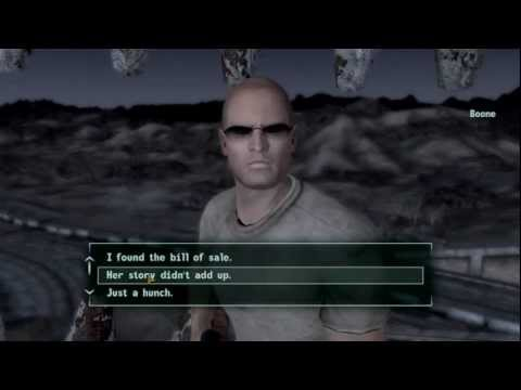 Fallout: New Vegas with Girl on Duty - Don't trust old women with glasses