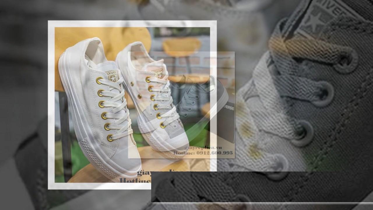 62ac719085308b Giày Converse nữ tại TP.HCM-giayreplica.vn - YouTube