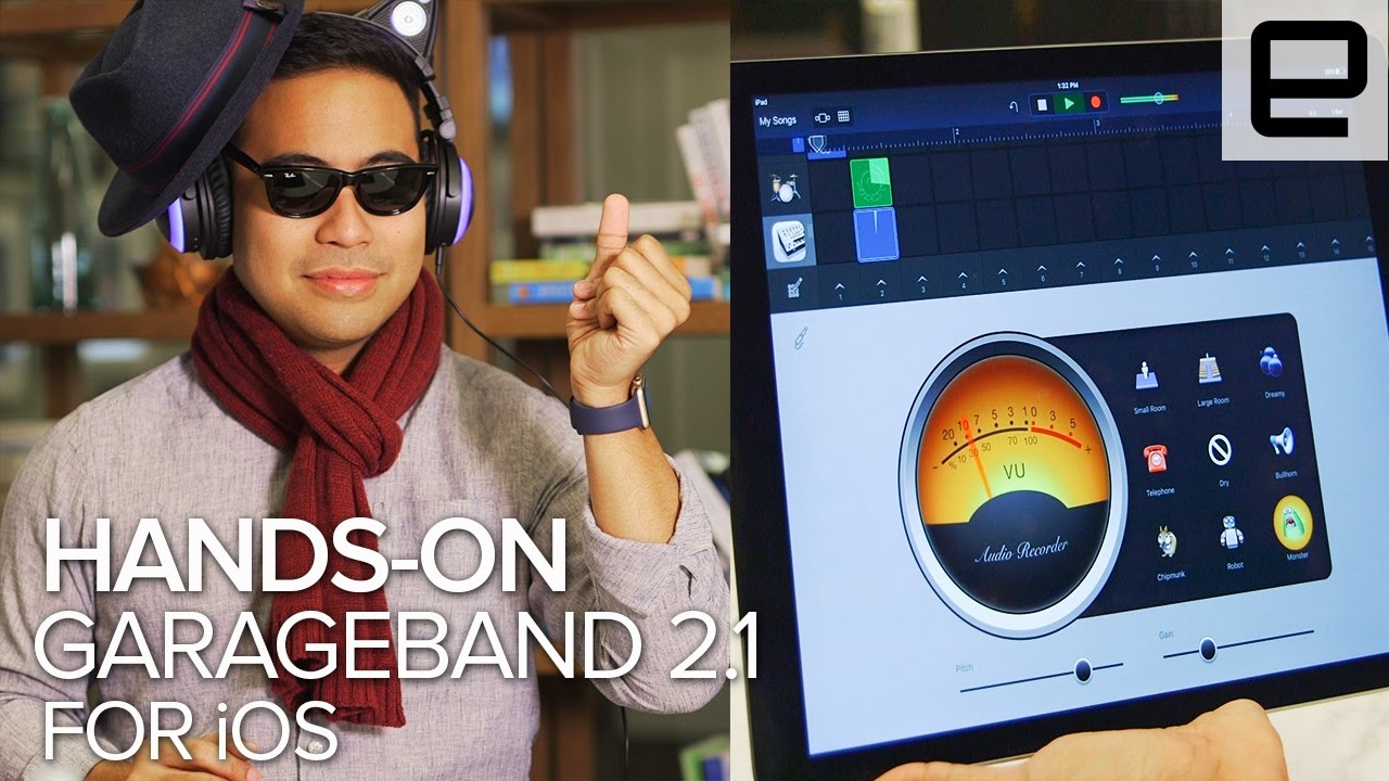 Garage Band 2 1 for iOS: Hands-on