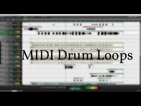 ⇨ FREE MIDI ⇨ MIDI Drum Loops