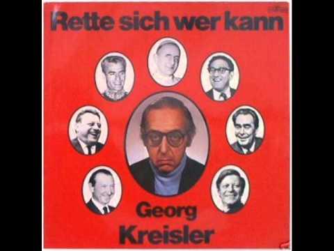 Georg Kreisler - Regale