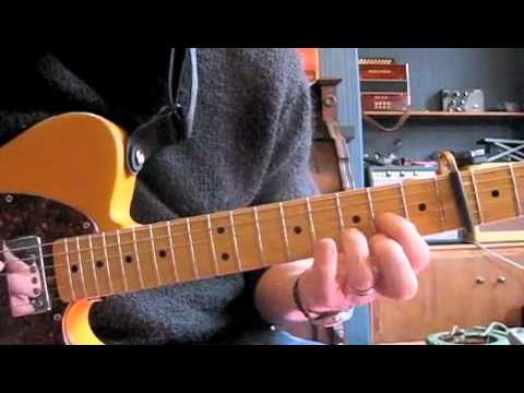 Waterfall Stone Roses Guitar Tutorial Main Riff Youtube