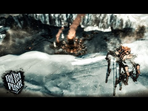 FINDING SURVIVORS & USING GIANT ROBOTS TO CONTROL THE CITY - Part 2 - Frostpunk Survival Gameplay